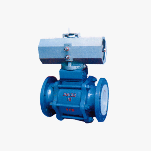 Q641F3, Q641F46 type pneumatic ball valve (three pieces)