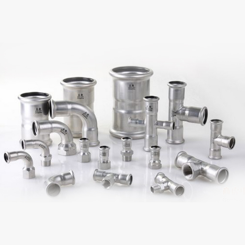 Stainless steel double sealing single (double) pressure pipe fittings