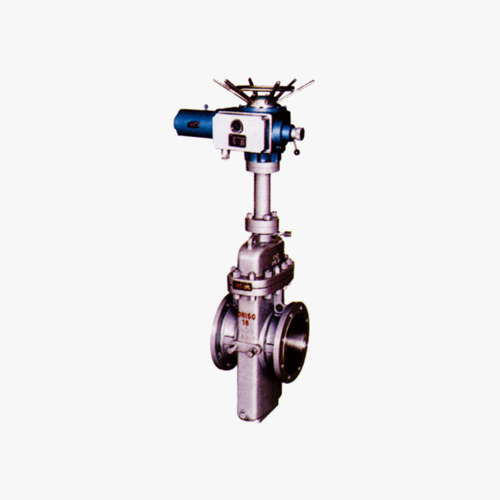 Flat plate gate valve with diversion hole (single gate, double disc)