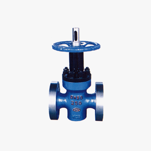 High pressure plate gate valve special for ZF43Y Oilfield