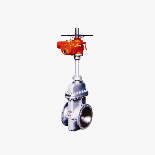 No flow guide plate gate valve series (single gate, double disc)